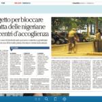 articolo relativo ad attività Lule Onlus Milano tratta e sfruttamento - La Repubblica