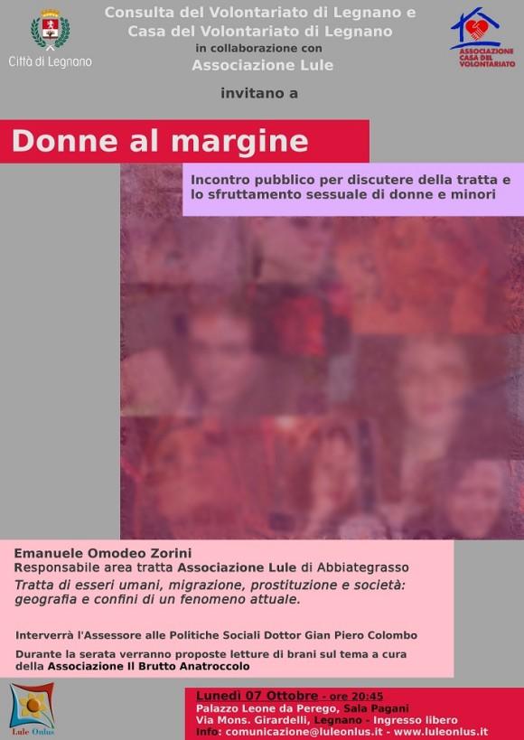 Donne al Margine - Legnano 7 ottobre