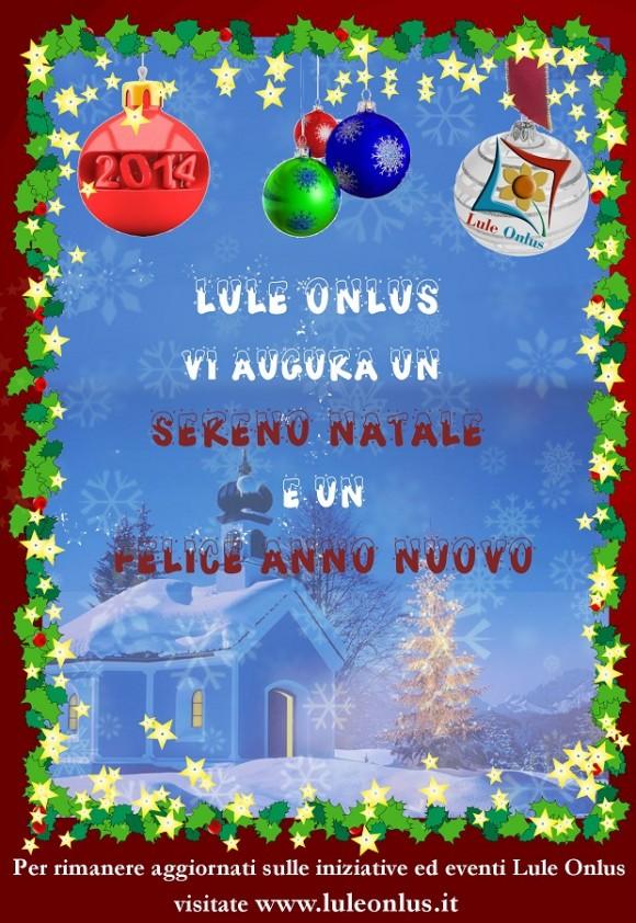 Auguri Natale Lule Onlus