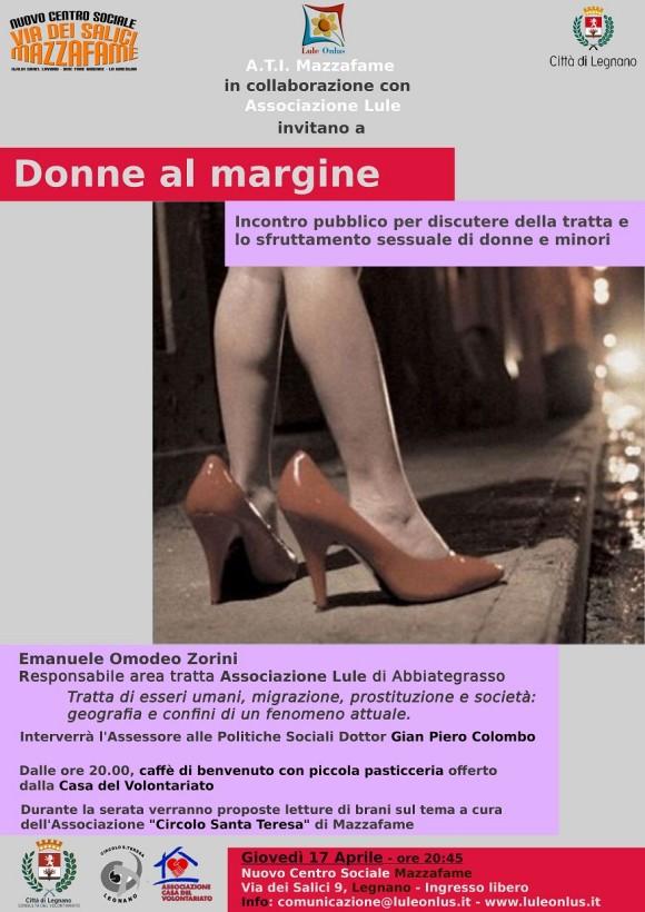 Legnano-Mazzafame 17 Aprile, Donne al Margine