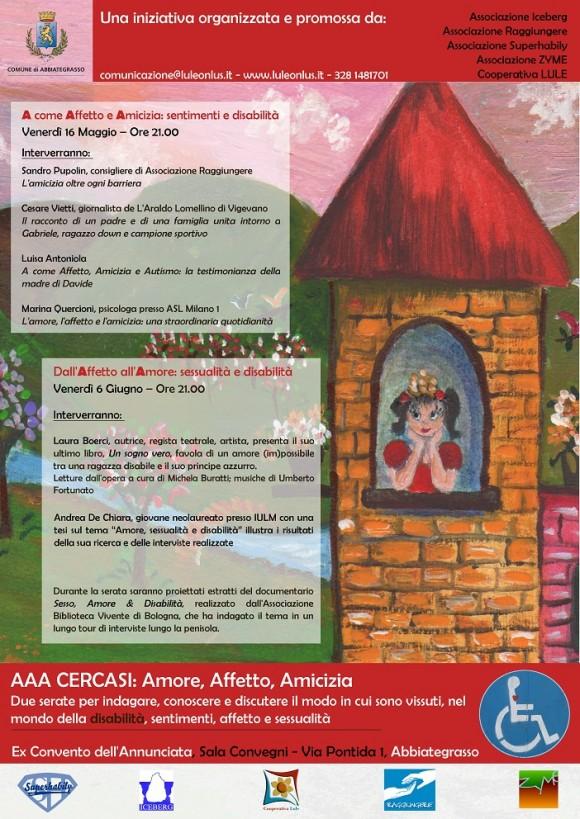 Manifesto AAA - Amore, affetto, amicizia