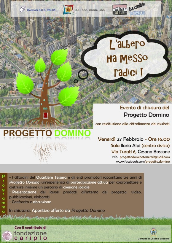 Progetto Domino 27 feb Tessera
