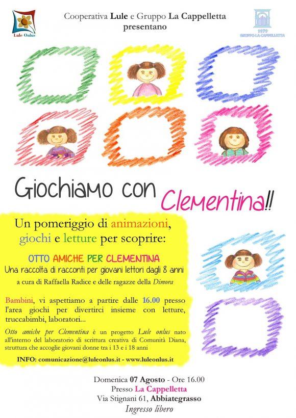 Giochiamo con Clementina - 7 agosto