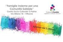 Banner che presenta il ricco calendario di iniziative, laboratori e servizi per le famiglie presso il Pifferaio Magico di Vittuone organizzato da Cooperativa Lule