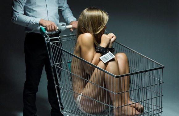 immagine sensibilizzazione tema tratta e sfruttamento