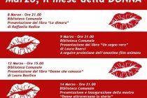 programma 8 marzo, Festa della donna Casorezzo. Presentazione Dimora RAffaela Radice Lule Onlus Milano