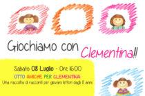 """Festa in Cappelletta ad Abbiategrasso 8 Luglio 2017 - leggiamo insieme """"8 amiche per Clementina"""""""