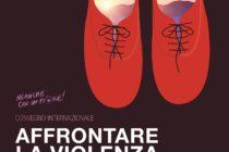 """manifesto del convegno """"affrontare la violenza sulle donne - Prevenzione, riconoscimento e percorsi di uscita» in programma al Palacongressi di Rimini il 13 e 14 ottobre 2017"""