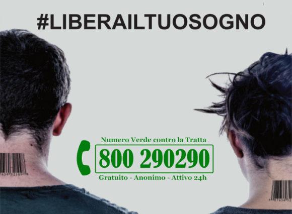 Giornata Europea contro la Tratta di Esseri Umani - #liberailtuosogno - iniziative Lule Milano