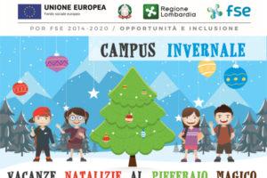 banner campus invernale presso Pifferaio Magico a Vittuone promosso da Lule Onlus