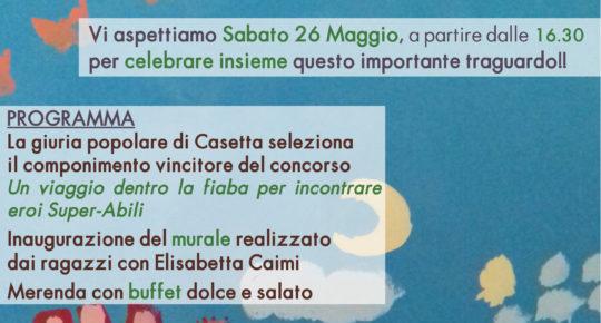 locandina Festa Casetta Lule - Nosate