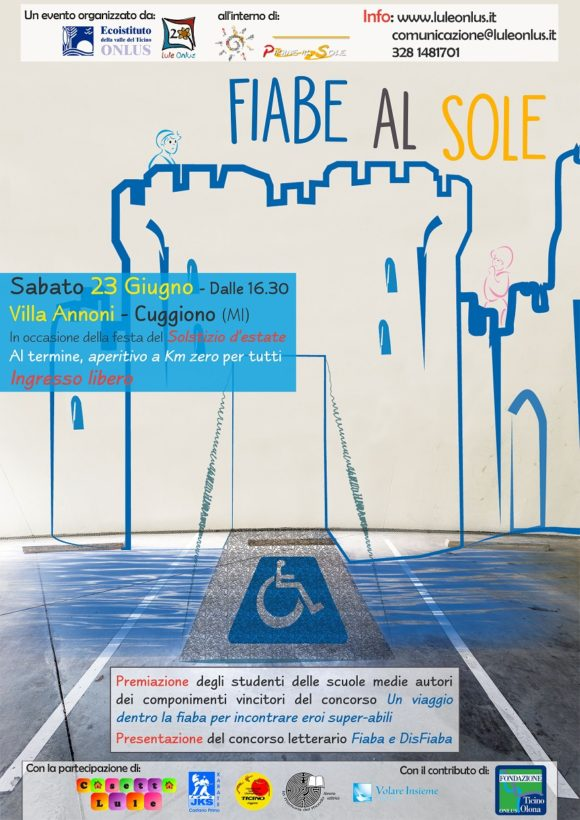 locandina evento Lule A cuggiono fiabe e disabilità Fiaba e Disfiaba