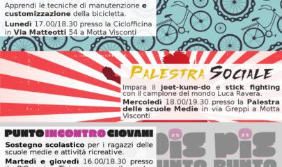 promo attività coop lule motta visconti per minori con Luca Ravera