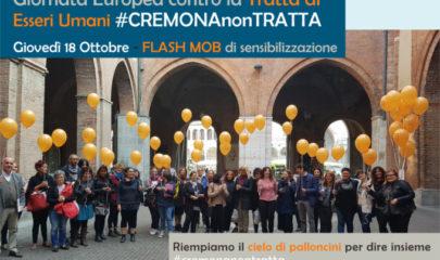 18 ottobre giornata europea contro la tratta di esseri umani - CremonaNonTratta Lule Onlus Milano