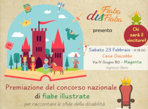 immagine evento finale e premiazione concorso Fiaba e DisFiaba produzione fiabe disabilità