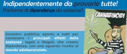 evento sulle dipendenze promosso a Motta Visconti da Lule Onlus all'interno del progetto finanziato da Fondazione Peppino Vismara