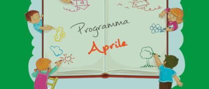 programma di aprile spazio giochi Pifferaio Magico Vittuone gestito da Lule Onlus