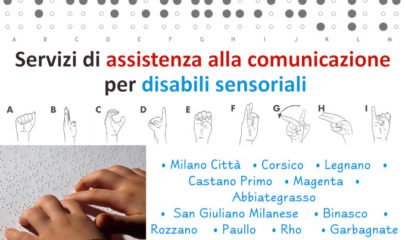 servizi Lule assistenza alla comunicazione per disabili sensoriali comuni Milano - LIS, disabilità visive e uditive