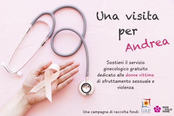 raccolta fondi Lule per servizio ginecologico gratuito donne vittime di violenza Magenta